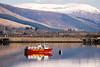 Highland Ferries boat moored up on Loch Linnhe, Fort William. (ho_hokus) Tags: 2018 escocia fortwilliam highlandferries lochlinnhe nikond80 schottland scotland scozia tamron18270mmlens unitedkingdom ferry loch water écosse boat mountain peak snow lake
