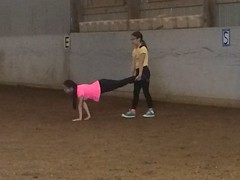 Equine Vaulting (Pictures by Ann) Tags: equinevaulting equine horse vaulting exercise physicaleducation phyed gymnastics dance fitness fun olivia