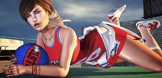 📷       Like a sportswoman.