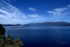 Lago Nahuel Huapi (luisarmandooyarzun) Tags: árbol bahía agua montaña mar nahuelhuapi azul cielo landscape paisaje panoramica panorama turismo fotografía argentina photographer photography lake lago patagoniaargentina