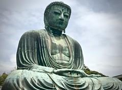 The Great Buddha of Kamakura (kimbar/Thanks for 3.5 million views!) Tags: buddha statue sculpture kamakura temple daibutsu nationaltreasure japan kōtokuin greatbuddha
