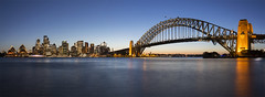 Welcome to the awesome city: Sydney, Australia (Tim van Woensel) Tags: harbour bridge sydney opera house skyline nsw new south wales central business district unesco world heritage site australia down under cityscape travel skyscraper panoramic pano panorama
