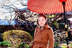 Women at Hase Temple (Dakiny) Tags: 2018 winter february japan kanagawa kamakura hase city street temple hasetemple people portrait woman girl bokeh nikon d750 nikonclubit