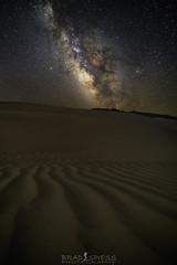 Sand Dune Milky Way (ihikesandiego) Tags: mesquite sand dunes death valley milky way night sky
