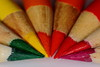 Pencil Half Colour Wheel (john_four20) Tags: macro sigma sigma105 canon canon7dmk2 canon7dmkii colourful beyondbokeh bokeh dof depthoffield