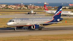 VP-BWE (Ken Meegan) Tags: vpbwe airbusa320214 2133 aeroflot istanbulataturk 472017 istanbul ataturk aeroflotrussianairlines airbusa320 airbus a320214 a320