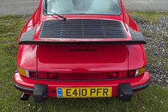 Classic 911 Back End (syf22) Tags: car vehicle automobile auto autocar automotor motor motorcar motorised sportcar transport carriage germanmade madeingermany porsche porscheclubgb porscheclubgbregion2 flatsix flat6 6cylinders red guardsred arse ass tail rear rearend back backend bottom 911 classic aircooled carrera wheel scotland gtm grampiantransportmuseum alford aberdeenshire