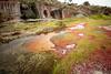 cantera (AntonioOQ) Tags: cantera caceres paisaje rocas agua color primavera hierba nublado