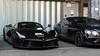 All Black Everything (Mattia Manzini Photography) Tags: ferrari laferrari supercar supercars cars car carspotting nikon v12 black hypercar hybrid automotive automobili auto automobile knightsbridge london combo