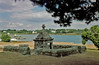 St Philibert (catb -) Tags: france well fontaine brittany coast boat