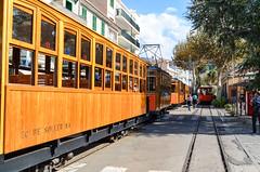 Tramvia de Sóller (jbdodane) Tags: europe majorca mallorca portdesoller spain tram tramviadesoller