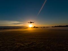 A drone sunrise (Thunder1203) Tags: gopro goprohero5black actioncamera aerial djiaustralia djiglobal djimavicpro drone
