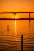 Southern MD Sunset 3-0 F LR 4-21-18 J528 (sunspotimages) Tags: landscape seascape sunrise sunset sunsetssunrises sunrisesunset sunsetsunrise bridge maryland southern md solomonsisland sunrisesunsets orange