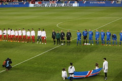 Before the start of the Iceland/Peru football match at the Red Bull Arena (Hazboy) Tags: hazboy hazboy1 island peru iceland friendly game match football soccer futbol red bull arena harrison nj new jersey march 2018