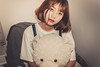 _MEO9401 (Davic (N)) Tags: girl dress blue fresh short hair beautiful bread tea sad alone