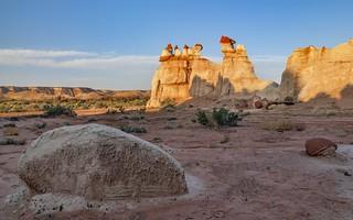 *The Blue Canyon @ land of erosion*