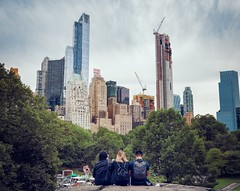 Three Best Friends (kareszzz) Tags: newyork america us usa centralpark manhattan rock skyscrapers architecture buildings landscape people summer art colours contrast streetphotography urbanphotography travel travelphotography ny nyc canon6d 24105