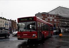 London General P5 (Unorm001) Tags: red london single deck decks decker deckers buses bus routes route diesel sn51 uao ldp 200 ldp200 sn51uao