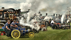 Whistles (PentlandPirate of the North) Tags: outdoorshows tractionengines steam rally ashleyhall ~flickrinnes flickrinnes