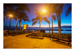 sunset gazing (philippe*) Tags: sunset waikiki hawaii honolulu