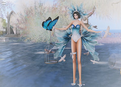 Look 059-2018 (Rehana Seljan (Japan)) Tags: secondlife sl fashion 3d game rehanaseljan rehana newrelease charity blueheartevent irrisistible slackgirl swank monso fameshed zibska enchantment s0ng anga lelutka maitreya deetalez