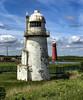 Lighthouses at Killingholme (robmcrorie) Tags: lighthouse sea humber estuary killingholme high brick red white old iphone 7 plus