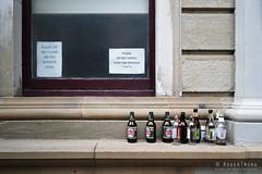 20180513-18-Bottles on a wall (Roger T Wong) Tags: 2018 australia hobart rogertwong sel2470z sony2470 sonya7iii sonyalpha7iii sonyfe2470mmf4zaosscarlzeissvariotessart sonyilce7m3 tasmania theatreroyal bottles sign window