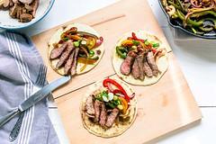 Grilled steak fajitas (thetortillachannel) Tags: recipe video food cooking fajita tortilla steak dinner savory tasty delicious texmex tortillas fajitas