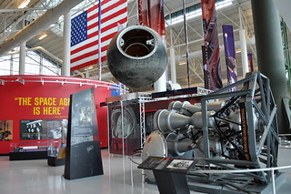 Foton (34KS) Return Capsule (Foton 6) and Kuznetsov RD-107 Rocket Engine - Evergreen Aviation and Space Museum - McMinnville, Oregon - June 2, 2015 444 RT CRP
