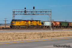 UP 9546 | GE C41-8W | UP Sidney Subdivision (M.J. Scanlon) Tags: business c408 c418w canon capture cargo commerce digital eos egbert engine freight ge haul horsepower landscape locomotive logistics mjscanlon mjscanlonphotography mnppc manifest merchandise mixedfreight mojo move mover moving outdoor outdoors photo photograph photographer photography picture rail railfan railfanning railroad railway scanlon signal signalbridge sky steelwheels super track train trains transport transportation tree up up9195 up9546 upmnppc upsidneysub upsidneysubdivision unionpacific wow wyoming ©mjscanlon ©mjscanlonphotography