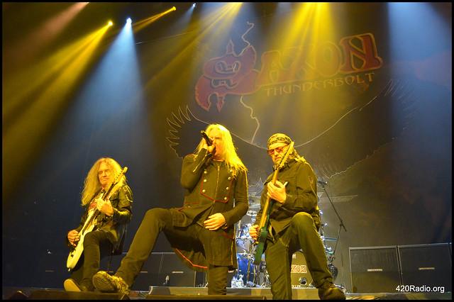 Saxon - Veterans Memorial Coliseum - Portland, OR - 04/17/18