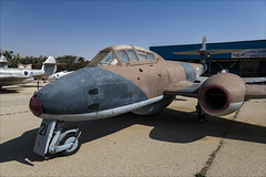 Gloster Meteor T7/8 - 2 (NickJ 1972) Tags: israel israeli air force museum hatzerim iaf idf iasf 2018 aviation gloster meteor t7 t8 fairey 21 111