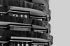 ....all around (christikren) Tags: architecture blackwhite christikren facade balcony linescurves monochrome panasonic sw city