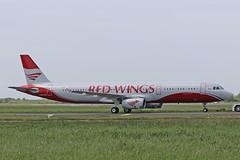 A321-231 G-ZBAG (VP-BRQ) RED WINGS (shanairpic) Tags: jetairliner passengerjet a321 airbusa321 shannon iac eirtech monarch redwings gzbag vpbrq