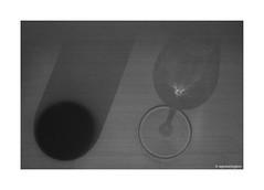 Glass bottle © (wpnewington) Tags: glass bottle wine still art sun table distortion