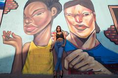 Street Art, Barranco (Geraint Rowland Photography) Tags: bohemianbarranco lima peru southamerica art streetart paintonwalls graffiti graffitiart latinas models photosshootinlima artists wwwgeraintrowlandcouk geraintrowlandstreetarttoursinlima