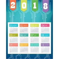 free vector Matrix Chip Design 2018 calendar (cgvector) Tags: 2017 2018 2018calendar 2019 2020 365 abstraction april august backgrounds blue business calendar chip chronological clean collection color date day december design diary event friday holiday january july june march matrix may monday month monthly new november number october organizer personal routine saturday september set simple simplicity sunday template thursday time tuesday vector wednesday week year
