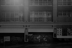 (sweethardt) Tags: canon blackwhite blackandwhite canon5dmii bw seattle buildings pikeplace market city cityscape