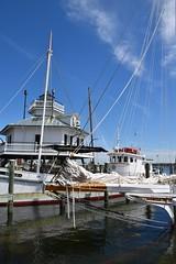 Beautiful Day... (Chesapeake Bay Maritime Museum Photos) Tags: chesapeakebaymaritimemuseum stmichaelsmd waterfront lighthouse shipyard boats water miles river authentic chesapeake cbmm