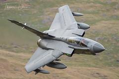 RAF Tornado GR4 ZA607 'MARHAM 41' (Tom Dean.) Tags: gr4 lfa7 april 2018 cadwest marham41 tornado wales za607