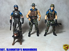 SGT. SLAUGHTER'S MARAUDERS (alexandre_ff) Tags: sgt slaughters marauders cutom gijoe gi joe letal cobra