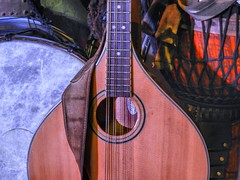 Eye and Ear, Pleasures (clarkcg photography) Tags: music instruments drum mandolin strings frets inspire inspirational inspiremethursday irishbouzouki