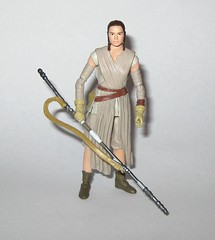 VC116 rey jakku star wars the vintage collection star wars the force awakens basic action figures 2018 hasbro c (tjparkside) Tags: rey jakku star wars vintage collection tvc vc vc116 116 basic action figures 2018 hasbro figure thevintagecollection mosc episode 7 tfa force awakens eight vii staff belt robe hood goggles desert kenner