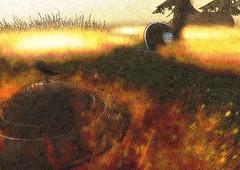 Wayfar contest entry (A Lone) Tags: second life secondlife sl virtual dark light shadow art firestorm gimp photography windlight photo sim 3d nature landscape scenery beauty romance serene ufo wayfar