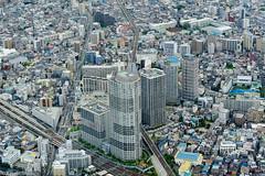 Tokyo City (eliseteshiraishi) Tags: japan landscape tokyo tóquiocapital outdoor skytree travel urbanlandscape sumidaku tōkyōto japão vistaaérea cidade edifício céu paisagem