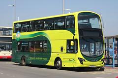 First 37987 BJ11 ECX (johnmorris13) Tags: first 37987 bj11ecx volvo b9tl wrightgemini bus
