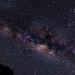 The Milky Way seen from Nyungwe National Park, Rwanda