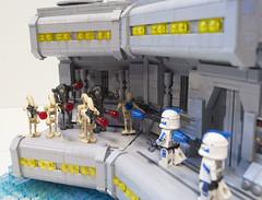 Clone Wars: Arc Troopers (Ben Cossy) Tags: lego clone wars fives echo clones droids arc trooper republic star moc afol tfol custom battle kamino dave filoni