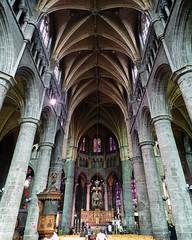Nave y altar mayor retablo iglesia interior Colegiata Notre Dame de Dinant Belgica 01 (Rafael Gomez - http://micamara.es) Tags: nave y altar mayor retablo iglesia interior colegiata notre dame de dinant belgica
