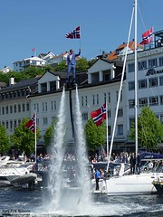 Today it´s 17th May, the National Day in Norway (larseriksfoto) Tags: 17maj arendal nationaldag national day pollen austagder sörlandet